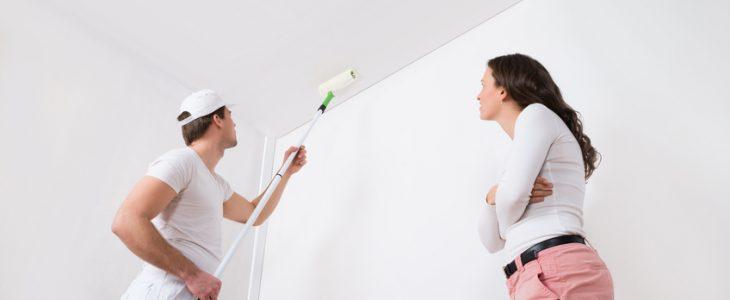 Pintor interior vivienda